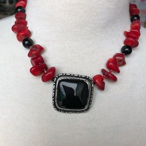 """Jewelry - Coral 17"""" inch long necklace"""